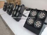 Scheuklappe-Publikums-Stufe-Effekt-Leuchte des Fachmann-RGBW LED