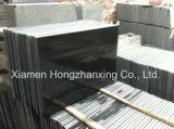 Mattonelle nere Polished del granito, lastra nera delle mattonelle del granito del Hebei