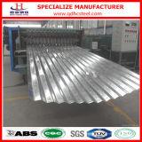 Feuille ondulée galvanisée de fer de toiture des prix concurrentiels