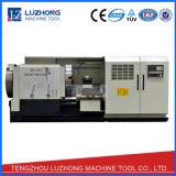 Máquina automática do torno do corte da linha da câmara de ar da tubulação do CNC (QK1343)