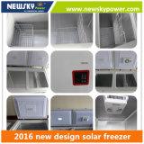 do congelador solar solar da C.C. do congelador de 433L 212L congelador solar da potência solar do congelador