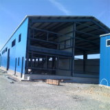 Bâtiment préfabriqué métallique pour entrepôt de structure en acier