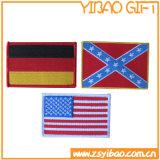 Het Kenteken van het Borduurwerk van het Etiket van het Kledingstuk van het Embleem van de douane voor Kleding (yB-pH-04)