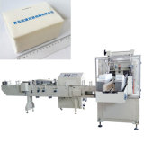Machine à emballer de tissu facial de machine à emballer de papier de soie de soie de serviette