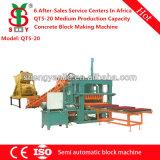 Профессиональная бетонная плита поставщика Qt5-20 делая машину для блока цемента пользы делая сбывание Нигерию низкой цены машины