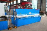 Máquina de corte da estaca do metal de folha elétrica de QC12y-12*3200 Nc