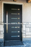 安全錬鉄の単一の前ドアの錬鉄のドアの挿入