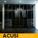 Guardarropa con bisagras moderno del dormitorio de la puerta del nuevo diseño al por mayor (ACS3-H13)