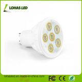 Proyector frío blanco caliente del blanco LED del mercado GU10 6W Dimmable de América con el Ce RoHS