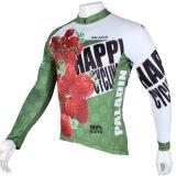 Куртка спортов клубники зеленая свежая покрывает втулка Breathable быстро сухой задействуя Джерси людей длинняя