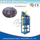 Máquina hidráulica vertical da prensa para a roupa usada