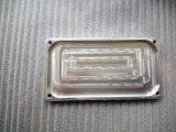Часть CNC таможни подвергая механической обработке с покрытием серебра лоска