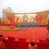 P4.81 SMD farbenreiche LED-Bildschirm-Innenbaugruppe für Hochzeit