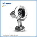 Lumière sous-marine lumineuse élevée 110V Hl-Pl09 de la qualité DEL