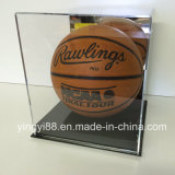Cas d'exposition acrylique UV de basket-ball normal de NBA