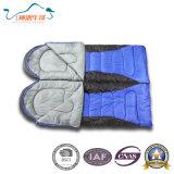 Sacs de couchage campants utilisés parhiver d'enveloppe de temps froid pour le famille
