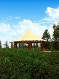 L'abri structure l'hôtel de tente de Glamping de bâti en métal de revêtement en PVC