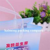Sacchetti di plastica del PVC della radura di buona qualità per il disegno di pacchetto del latte (sacchetti di plastica del latte)