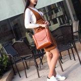 Al90052. Многофункциональная кожаный повелительница Мешок Конструктор Сумка Backpack способа сумок способа мешка плеча Schoolbag Backpack