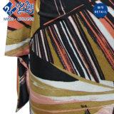 Multicoloured de v-Hals van de lang-Koker Sexy Elastische Blouse van Dames Newstyle