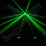 Luces cambiantes de la etapa de la Navidad de la estrella el caer del color DMX RGB LED