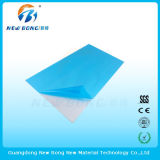 Película auta-adhesivo usada del material de construcción para la tarjeta de placas de acrílico
