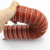 Sprung-Stahldraht 2 Falte-Silikon-Luftansaugrohr-Schlauch