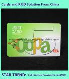 Cartão padrão do cartão desobstruído off-Set da impressão do Inkjet para o membro