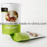 Il formato ha personalizzato la promozione si leva in piedi in su il sacchetto a chiusura lampo di imballaggio di plastica per alimento