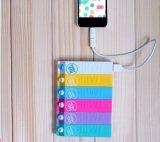Côté portatif de pouvoir de couleur de sucrerie de coupure de côté de pouvoir du type 1200mAh de lait pour le téléphone mobile