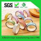 Cinta Washi impreso de encargo del embalaje del regalo que hace la cinta de la decoración de la cinta