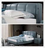 Домашней кровать спальни мебели обитая мебелью (9569)