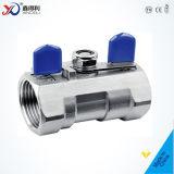 La fabbrica 1PC della Cina ha forgiato la valvola a sfera avvitata del foro riduttore