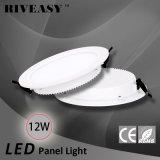 12W LED helles Panel-rundes Acryl LGP mit grosser Instrumententafel-Leuchte des Kühler-LED