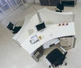 モジュラーオフィス用家具現代十字ワークステーション区分