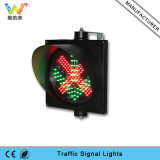 semaforo della freccia di verde della croce rossa del segnale di traffico a singhiozzo di 300mm