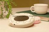 새로운 디자인 형식 과자 작풍 USB 커피 잔 온열 장치