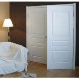Porte intérieure de HDF moulée par amorce blanche (porte de HDF)