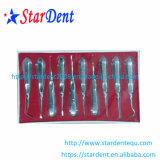 Tipo dental superventas de la maneta del acero inoxidable del elevador de la raíz (10PCS/set)