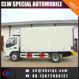 가벼운 의무 JAC Weiling 6mt 7mt 아이스크림 트럭에 의하여 어는 상자 트럭