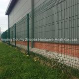 Barriera di sicurezza rivestita della maglia della polvere verde Premium