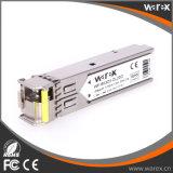 Módulo óptico del transmisor-receptor del producto 100Base-BX 1550nm Tx/1310nm Rx los 20km SFP BIDI de la red
