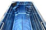Piscine sans fin avec la STATION THERMALE de bain de massage de STATION THERMALE de jacuzzi