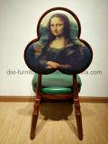 Hierro popular que empila sillas de la cafetería