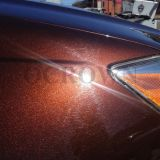 Пигмент перлы взаимодействия ранга автомобиля проблескивая красный