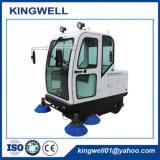 Spazzatrice di strada elettrica Tutto-Closed per la fabbrica (KW-1900F)