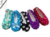 5つのカラー点の女性の屋内靴(RY-SL1671)