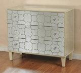 旧式なミラーのフランスの居間の家具のキャビネット