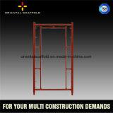 Aufbau-schnelles Verschluss-Rahmen-Baugerüst