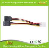 Fuente de fábrica de Shenzhen Cable de alimentación de 15cm SATA